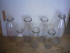 Old milk bottles - Vieilles bouteilles de lait